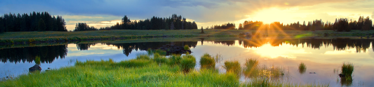 Photo of a lake on the Grand Mesa